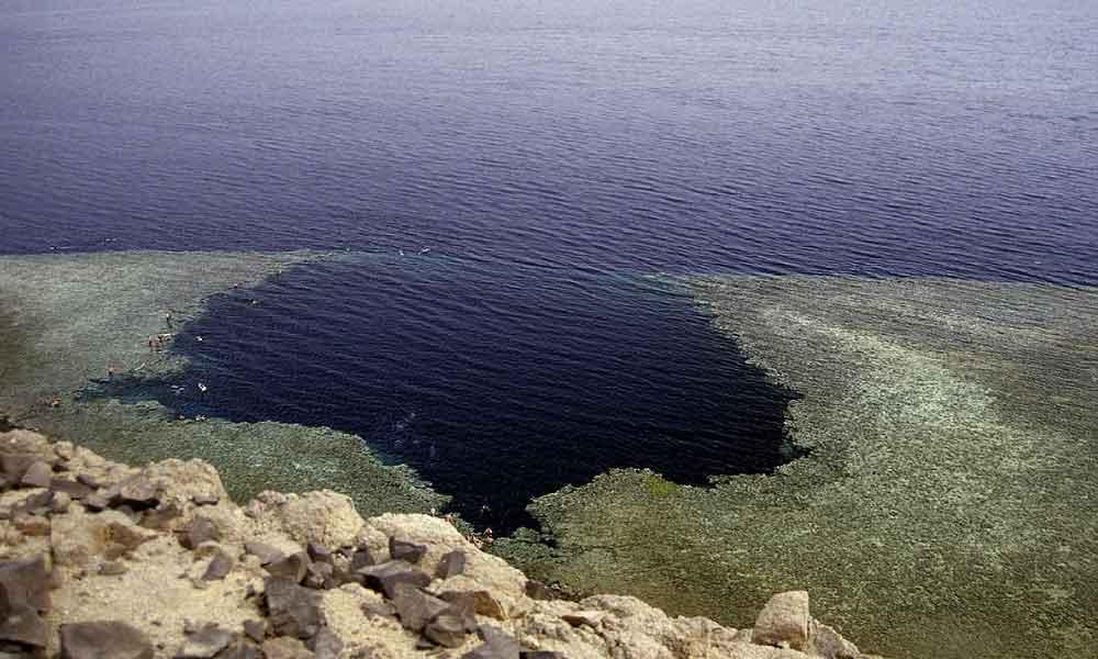 agujero azul de dahab aguas peligrosas