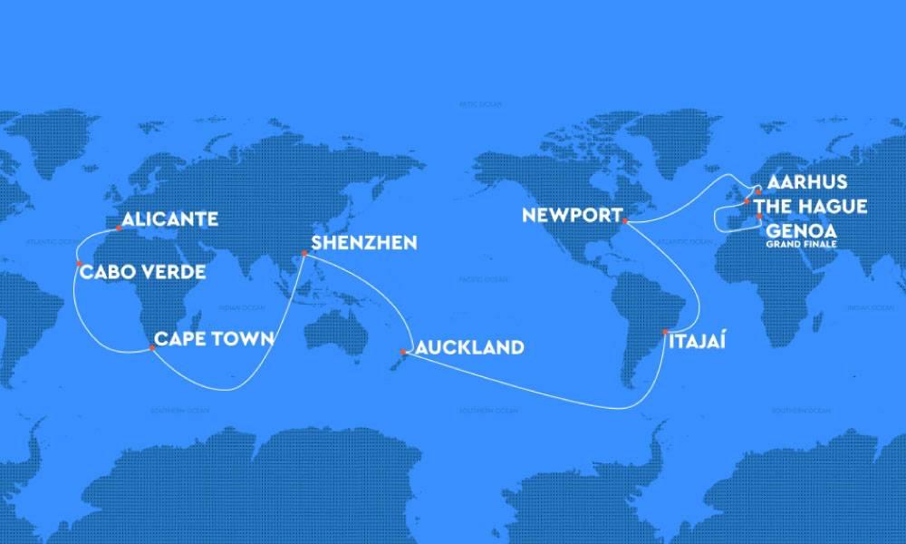ruta the ocean race